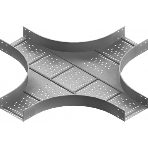 Крестовина лотка CZKSC 500x100x2.0мм