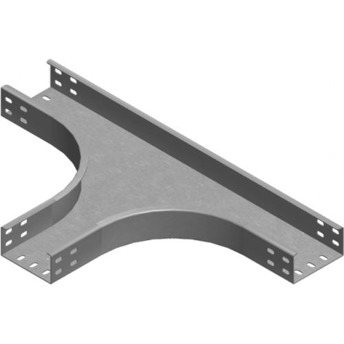 Тройник лотка TKZC 100x50x2.0мм