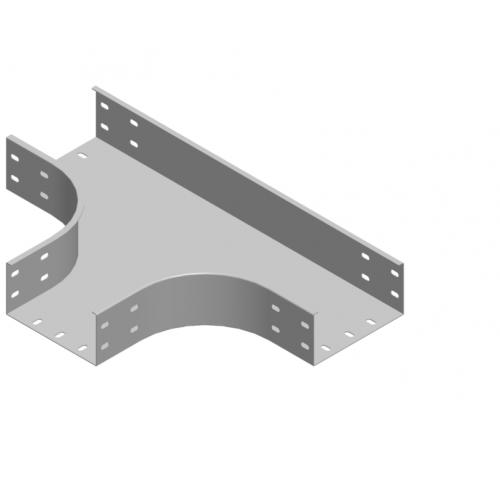 Тройник лотка TKZC 200x100x2.0мм