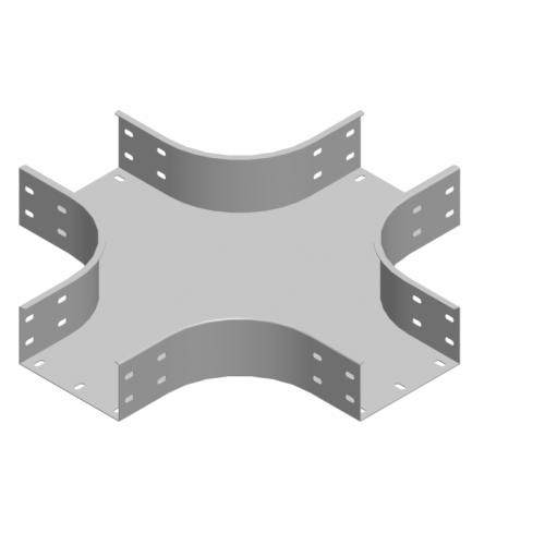 Крестовина лотка CZKZC 100x100x2.0мм