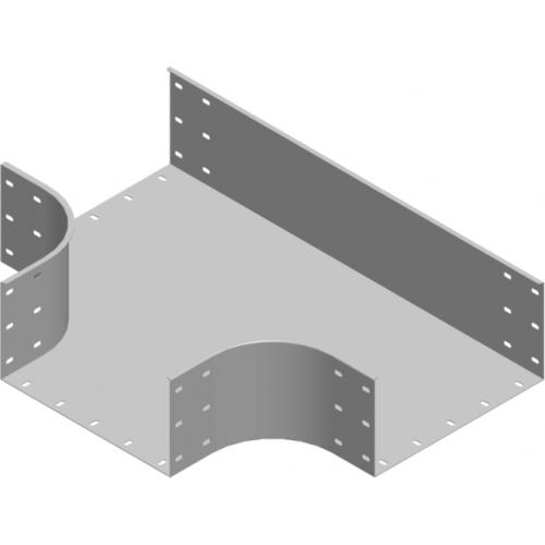 Тройник лотка TKZC 500x200x2.0мм