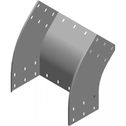 Внешняя дуга 45° LZZMP 400x200x1.5мм