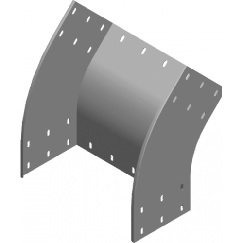 Внешняя дуга 45° LZZMC 400x200x2.0мм