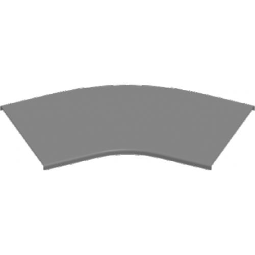 Крышка угла 45° PKKZMC 100x2.0мм