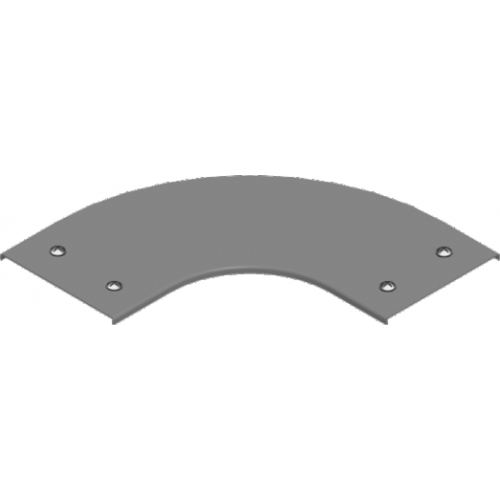 Крышка угла 90° с замком PZKKZP 300x1.5мм