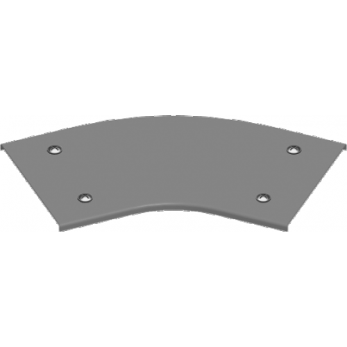 Крышка угла 45° с замком PZKKZMP 300x1.5мм