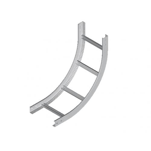 Вертикальная внутренняя дуга кабельроста LPDWP 100x45x1.5мм