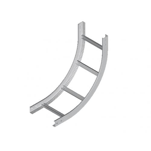 Вертикальная внутренняя дуга кабельроста LPDWC 600x50x2.0мм