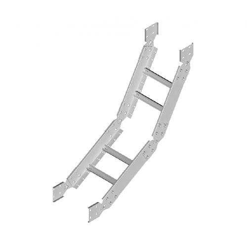 Шарнирная дуга LPDC 200x80x2.0мм