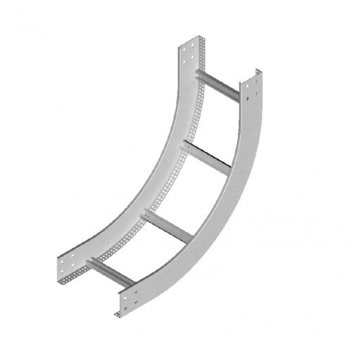 Вертикальная внутренняя дуга кабельроста LPDWP 600x80x1.5мм