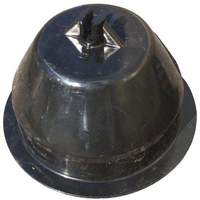 Держатель пластиковый для плоской крыши, 100 мм, ≈1 кг, з бетоном