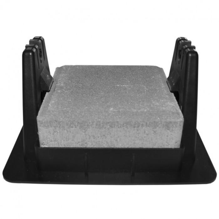 Держатель пластиковый для плоской крыши, прямоугольный, ≈1 кг