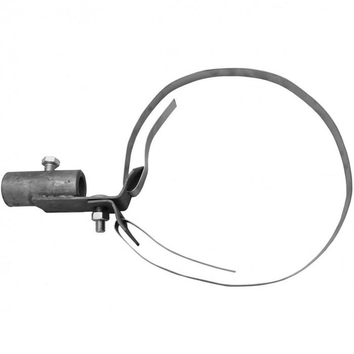 Держатель изолирующей штанги на круглых конструкциях ø100-200 мм, HDG