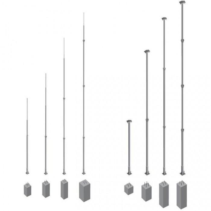 Анкерное основание для фундаментных мачт 13 и 16 м
