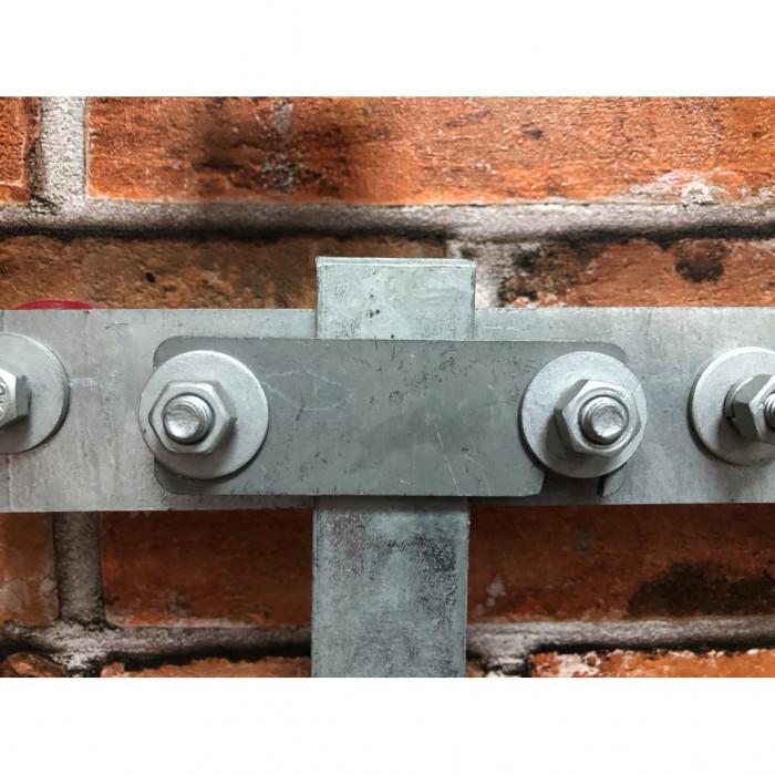 Зажим полосы к шине уравнивание потенциалов EPM, нерж.сталь