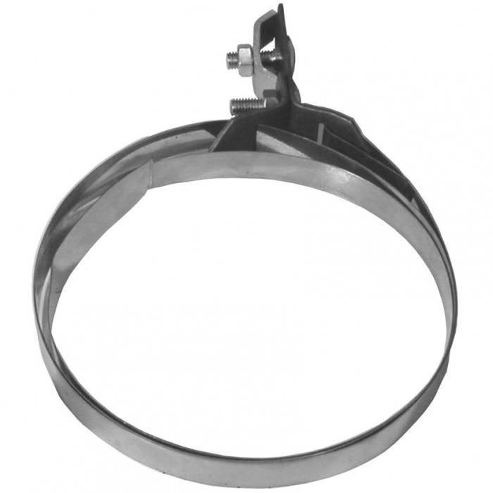 Зажим проволоки на трубах ø100-200 мм, нерж.сталь