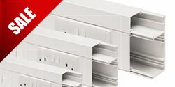Распродажа Английских пластиковых кабель-каналов (коробов) MARSHALL-TUFFLEX