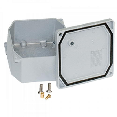 Коробка алюминиевая 294х244х114мм, IP66/67