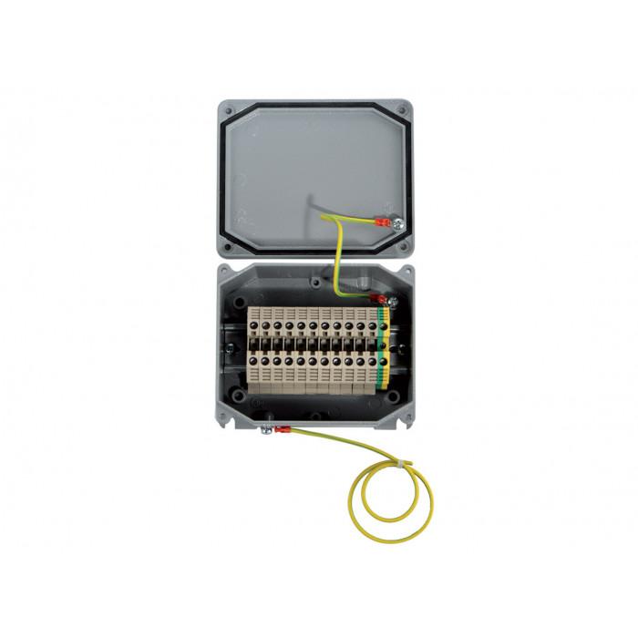 Коробка алюминиевая 90х90х53мм, IP66/67 UNI
