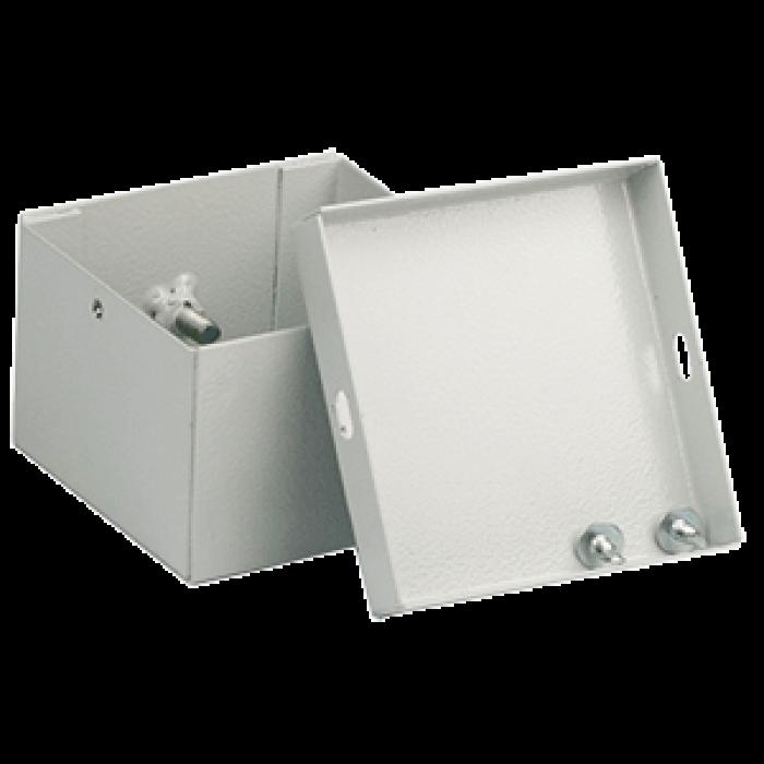 Коробка соединительная стальная нерж. сталь 100х100х55мм, IP53
