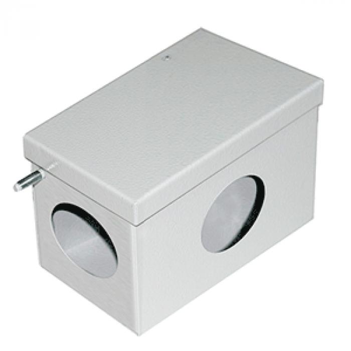 Коробка стальная окрашенная ревизионная 100х50х50мм, IP53
