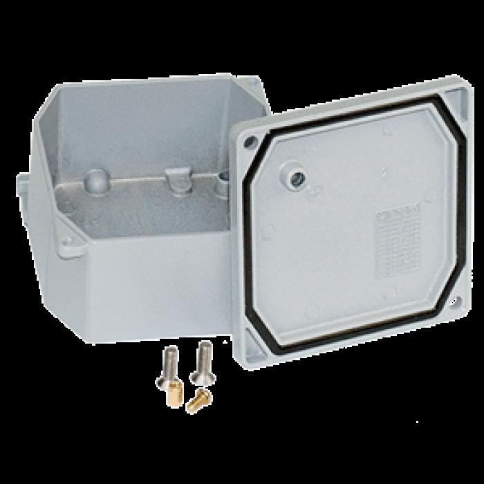 Коробка алюминиевая 90х90х53мм, IP66/67