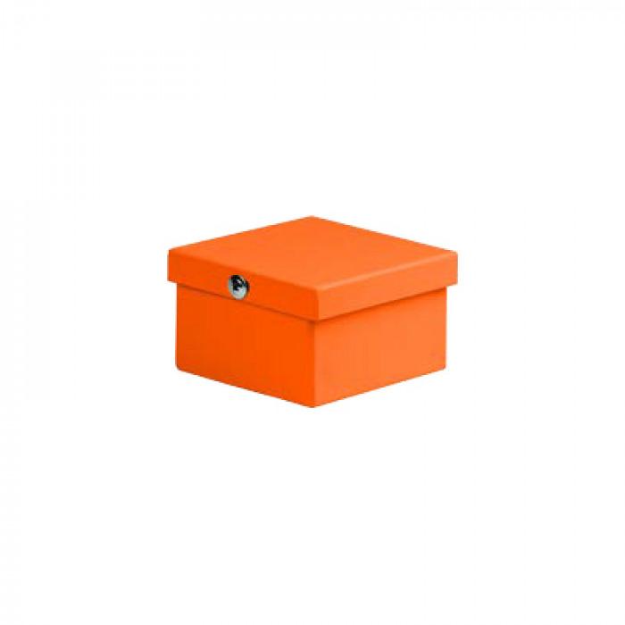 Коробка соединительная стальная окрашенная 100х100х55мм, IP53