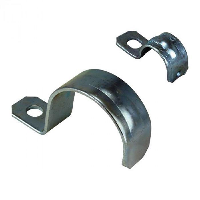 Скоба для крепления труб и металлорукава однолапковая, 16мм