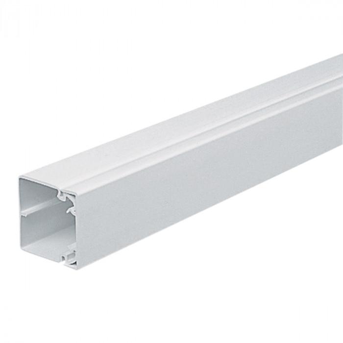 Кабель-канал MTRS50 50x50, серия Maxi, 2м, белый