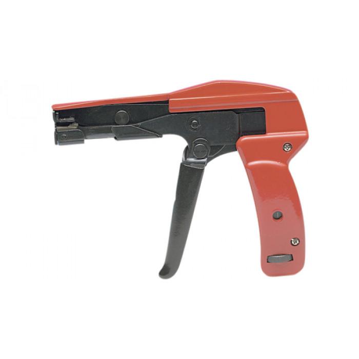 Инструмент для затяжки и обрезки стяжек (ширина 2.2-4.8мм, толщина до 1.6мм).