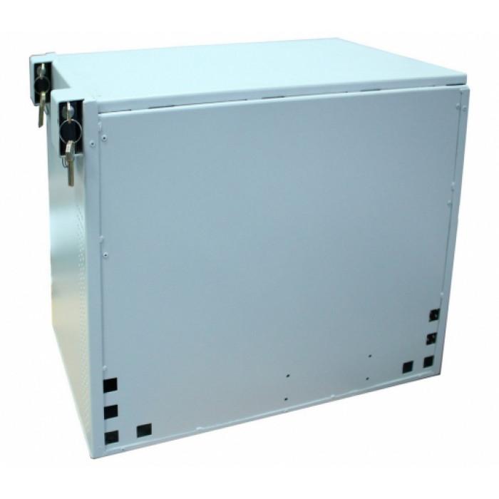 Шкаф антивандальный 9U, 450х450 мм (Г*В), серая