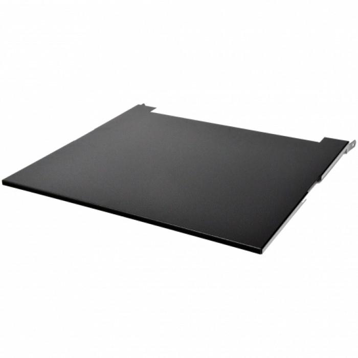 """Крышка для кронштейна настенного 19"""" глубина 480 мм., черная."""