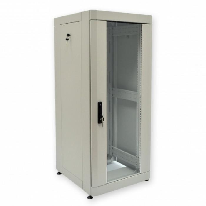 """Шкаф 19"""" 33U, 610х675 мм (Ш*Г), усиленный, серый"""