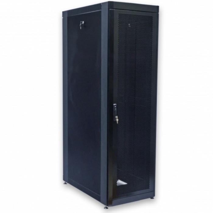 """Шкаф 19"""" 33U, 610х1055 мм (Ш*Г), черный, перфорированные двери (66%)"""
