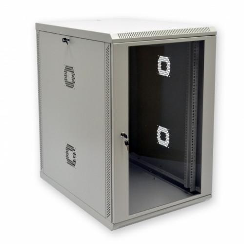 "Шкаф 19"", 18U, 600х800х907мм (Ш*Г*В), акриловое стекло"