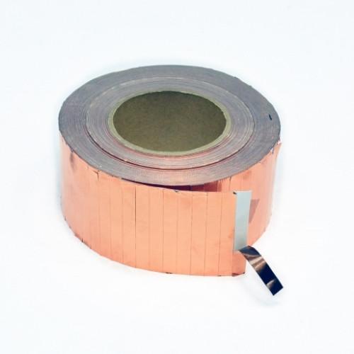 Токопроводящая самоклеющаяся медная лента 9х70 мм