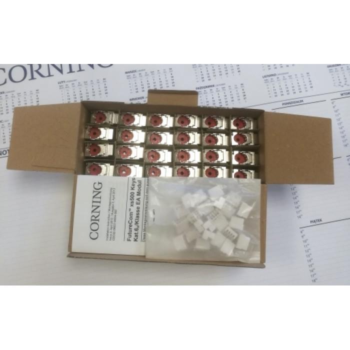 Модуль экранированный xs500 Keystone, кат. 6a, упаковка 24шт