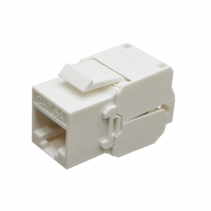 Модуль KeyStone RJ45 UTP, кат. 6a, Slim, LW