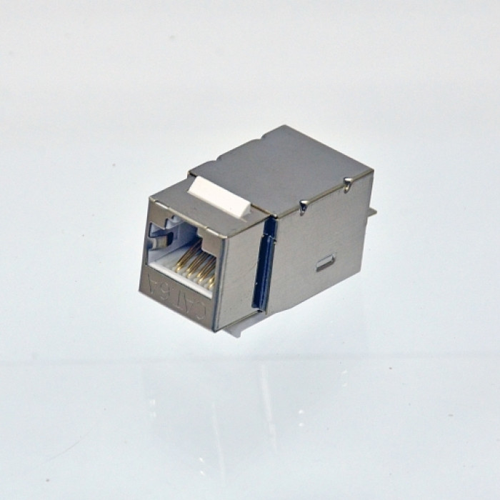 Модуль KeyStone RJ45 FTP, кат. 6А, 110, Slim, W - 17.3 мм, EPNew
