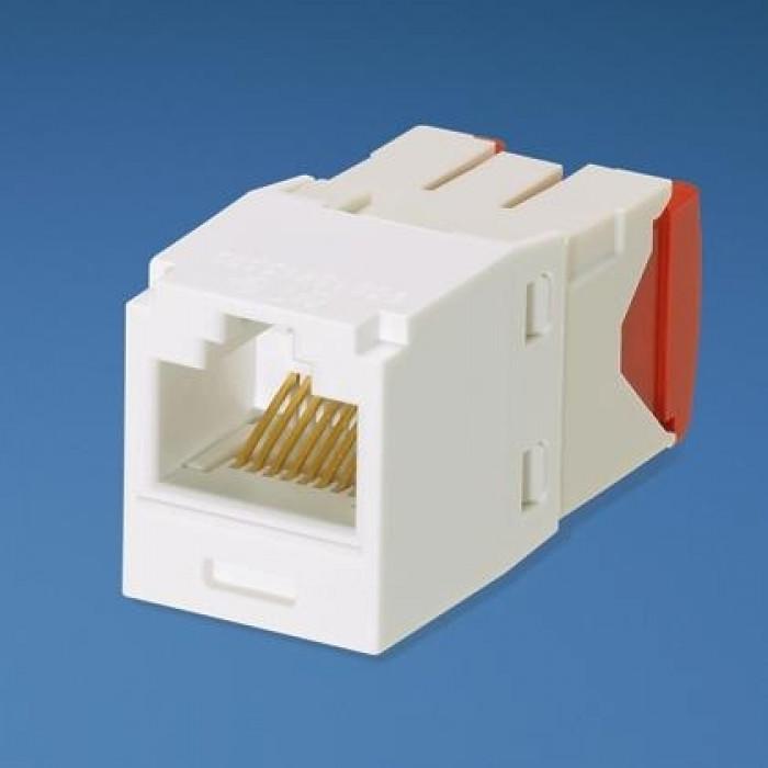 Модуль Mini-Com RJ45 UTP, кат.5е, белый