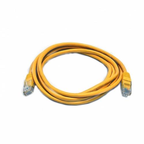 Патч-корд UTP, 0.5 м, кат. 5e, желтый