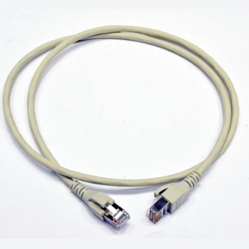 Патч-корд SF/UTP FutureCom, 0.5 м, кат. 5е, LSZH, серый, Corning