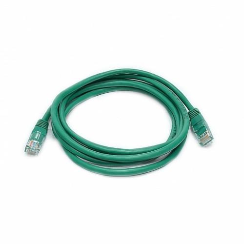 Патч-корд UTP, 3 м, кат. 5e, зеленый