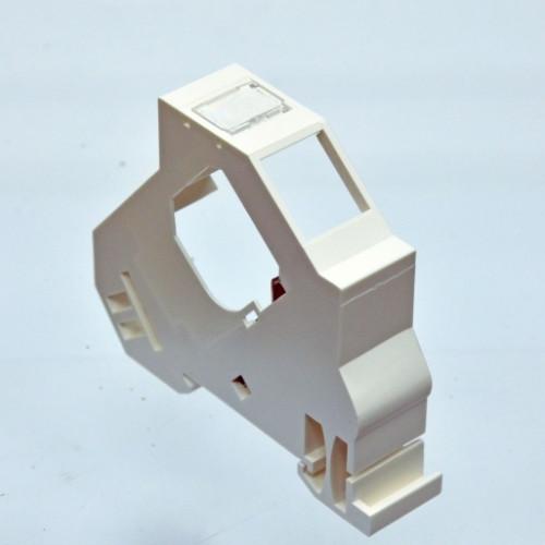Розетка под 1 модуль KeyStone, монтаж на DIN рейку, EPNew