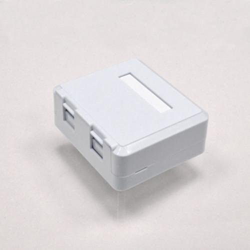 Розетка наружная для 2хRG45 без модулей в KeyStone, Kingda