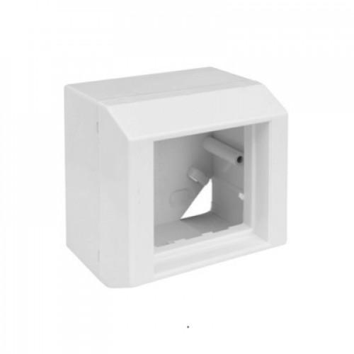 Монтажная коробка 65x65x48 мм, под вставку 45х45, Corning