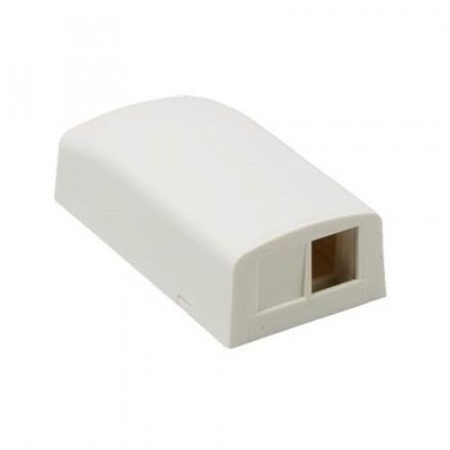 Розетка внешняя для 2-х модулей KeyStone, без модулей, белая, Panduit NetKey
