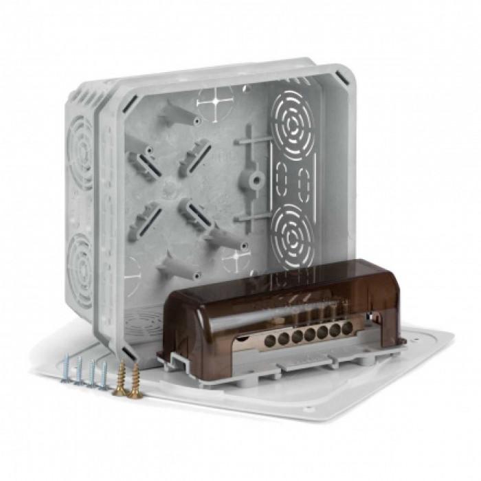 Коробка с крышкой v 125/1 и эквипотенциальным клеммником