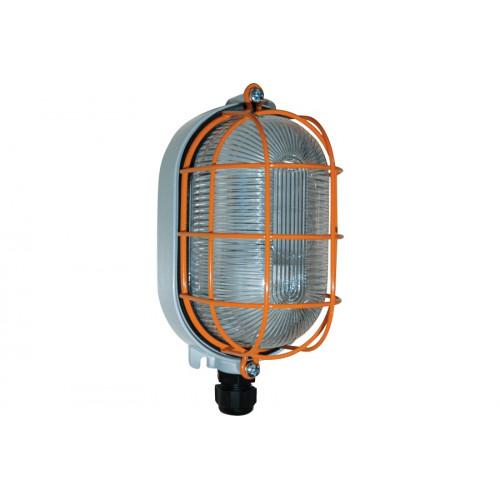 Взрывобезопасный овальный светильник Rondo-EX 18Вт, алюминий, IP65, Зоны: 2-21-22, Palazzoli (Lewden)