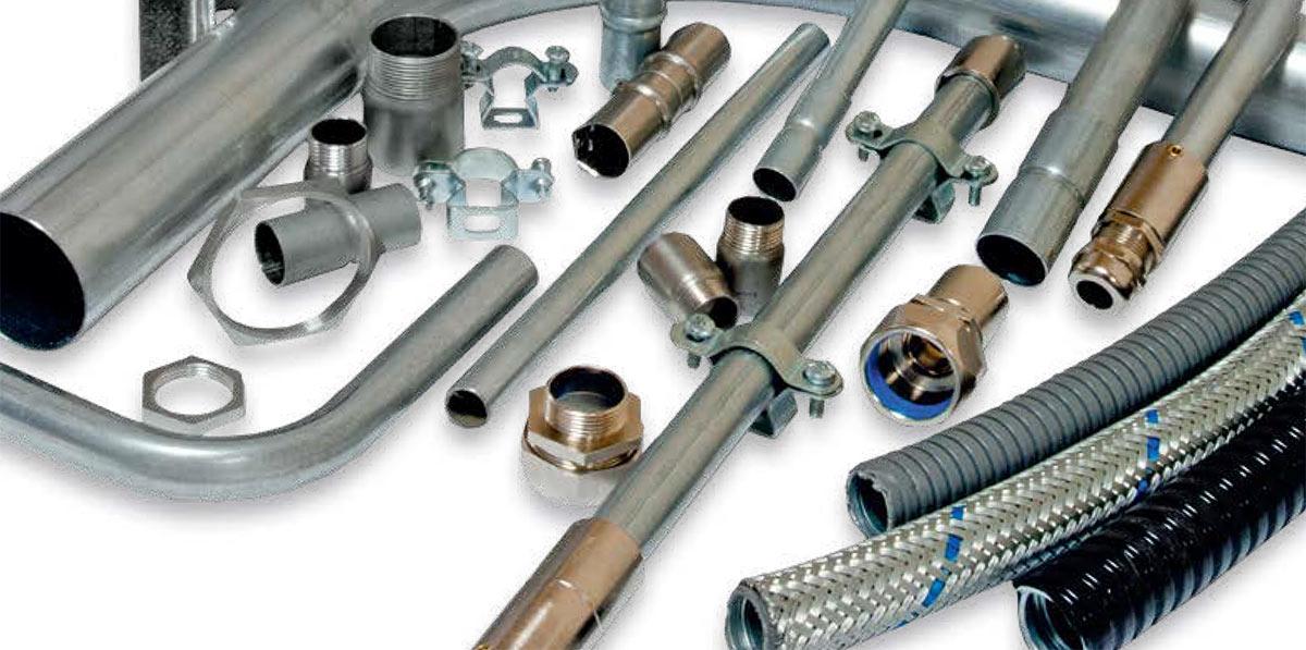 Система металлических(стальных) электротехнических труб Stilma(Стилма)